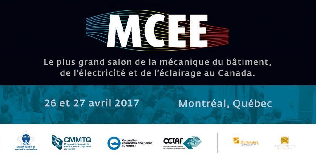 MCEE Montreal, 2017<br>Booth 3036