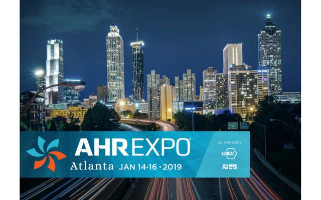 AHR Atlanta, 2019<br>Kiosque C5130