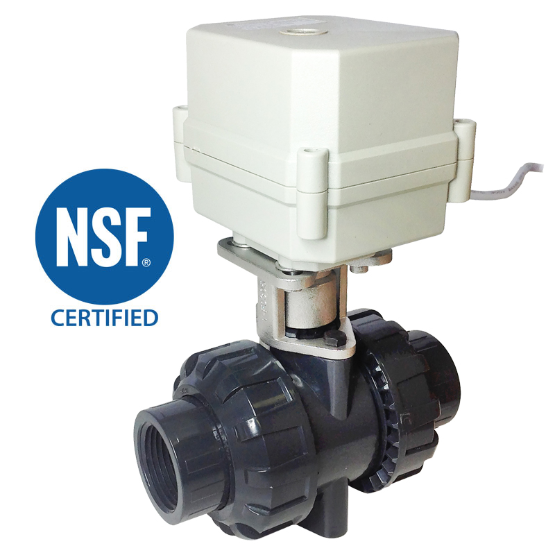 2 WAY NSF POLYMER SPHERICAL VALVES 3/4″, 1″, 1-1/4″, 1-1/2″, 2″<br>SVP SERIES