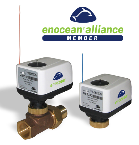 WIRELESS ACTUATORS BASED ON ENOCEAN MODULE<br>ME8300 SERIES
