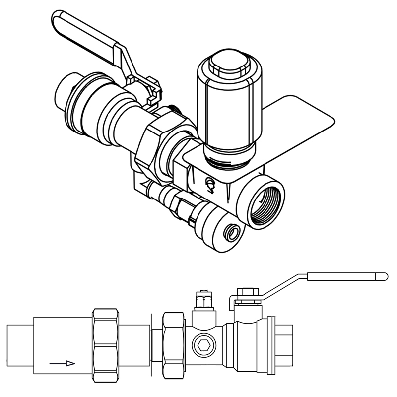 COMPLETE CONTROL VALVE PIPING KITS<br>SK SERIES