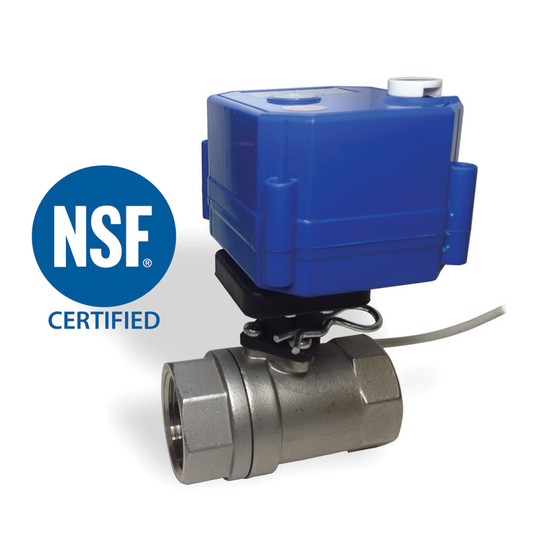 2 WAY NSF BALL VALVES 1/2″, 3/4″, 1″<br>SV SERIES